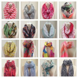 Mystery or Reseller box of scarves ***